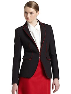 Costume National - Raw Edge Structured Jacket