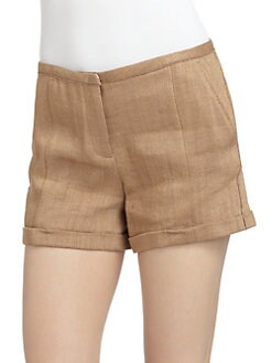 Costume National - Textured Shorts