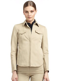 Costume National - Kaban Twill Zip Jacket