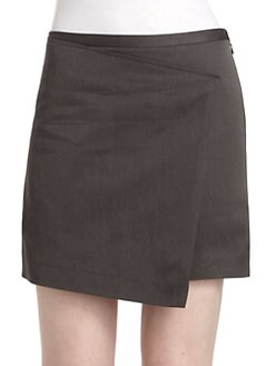 Costume National - Twill Asymmetric Skirt