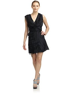Costume National - Draped Wrap Dress