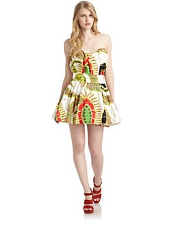 Roberto Cavalli - Abstract  Cocktail Dress
