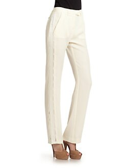 Roberto Cavalli - Satin Stripe Pants