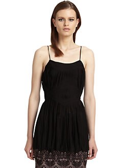 Roberto Cavalli - Pleated Tank