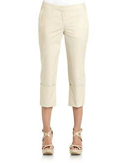 KaufmanFranco - Cuffed Cropped Pants
