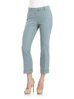 Philosophy di Alberta Ferretti - Cropped Cuff Pants