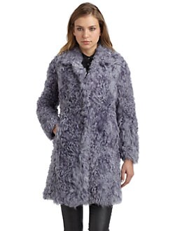 Philosophy di Alberta Ferretti - Sheep Fur Coat