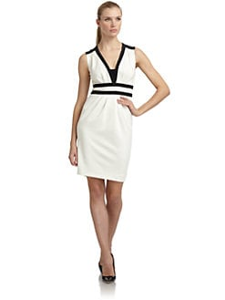 Moschino - High Contrast Doubleknit Dress