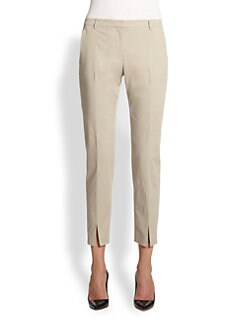 La Via 18 - Twill Ankle Pants