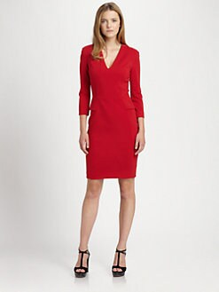 La Via 18 - Peplum Jersey Dress