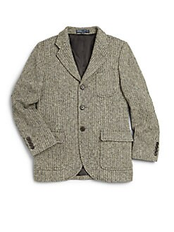 Ralph Lauren - Boy's Princeton Wool Jacket