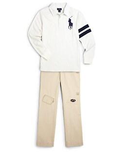 Ralph Lauren - Boy's Jersey Rugby Shirt