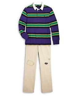 Ralph Lauren - Boy's Striped Rugby Shirt