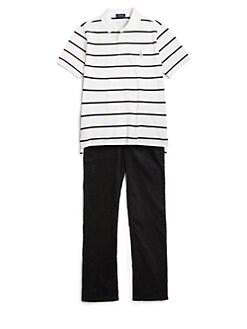 Ralph Lauren - Boy's Mesh Pique Polo Shirt