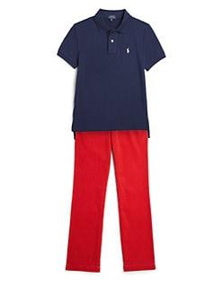 Ralph Lauren - Boy's Mesh Polo Shirt