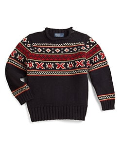 Ralph Lauren - Toddler's & Little Boy's Holiday Sweater