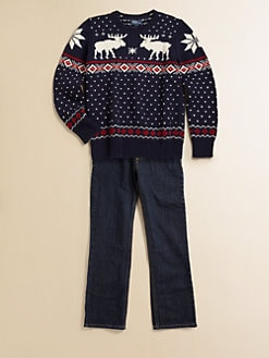 Ralph Lauren - Boy's Reindeer Sweater