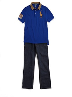 Ralph Lauren - Boy's Big Pony Polo Shirt