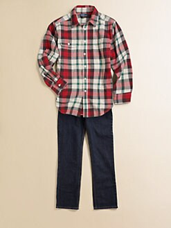 Ralph Lauren - Boy's Plaid Twill Shirt
