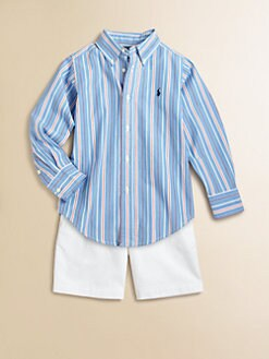 Ralph Lauren - Toddler's & Little Boy's Striped Blake Shirt