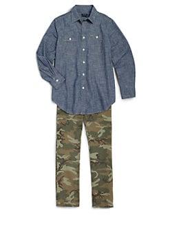 Ralph Lauren - Boy's Matlock Chambray Shirt