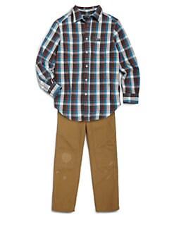 Ralph Lauren - Boy's Plaid Shirt