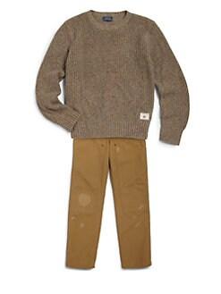 Ralph Lauren - Boy's Ragg Sweater
