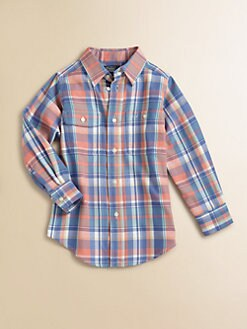 Ralph Lauren - Toddler's & Little Boy's Plaid Twill Shirt