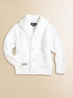 Ralph Lauren - Toddler's & Little Boy's Shawl Cardigan