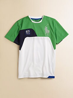 Ralph Lauren - Boy's Soft Touch Jersey Top