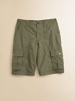 Ralph Lauren - Boy's Poplin Cargo Shorts
