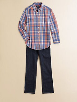 Ralph Lauren - Boy's Twill Plaid Shirt