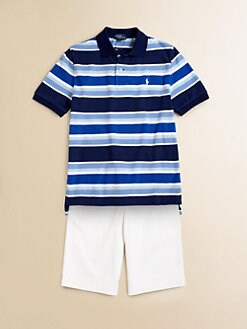 Ralph Lauren - Boy's Striped Polo Shirt