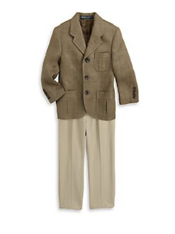 Ralph Lauren - Toddler's & Little Boy's Ashton Herringbone Blazer