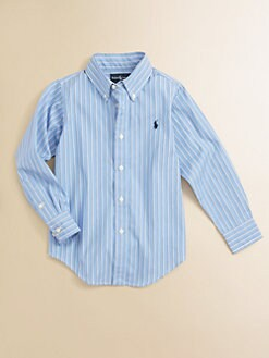 Ralph Lauren - Toddler's & Little Boy's Striped Shirt