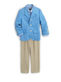 Ralph Lauren - Toddler's & Little Boy's Princeton Linen Sportcoat