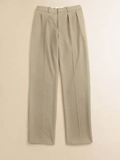 Ralph Lauren - Boy's Double Pleated Wool Woodsman Pants