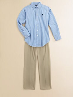 Ralph Lauren - Boy's Striped Dress Shirt