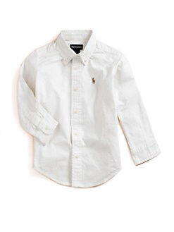 Ralph Lauren - Boy's Solid Oxford Shirt