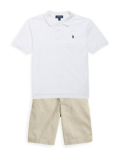 Ralph Lauren - Boy's Classic Mesh Knit Polo