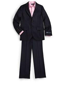 Ralph Lauren - Boy's Two-Piece Wool Gabardine Suit