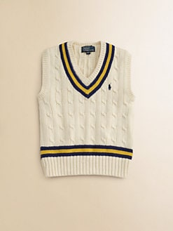 Ralph Lauren - Toddler's & Little Boy's Cricket Sweater Vest