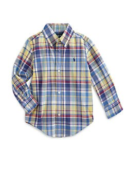 Ralph Lauren - Toddler's & Little Boy's Plaid Shirt