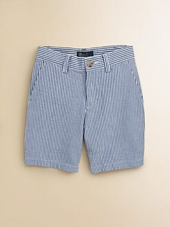 Ralph Lauren - Toddler's & Little Boy's Seersucker Shorts