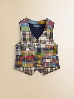 Ralph Lauren - Toddler's & Little Boy's Madras Vest