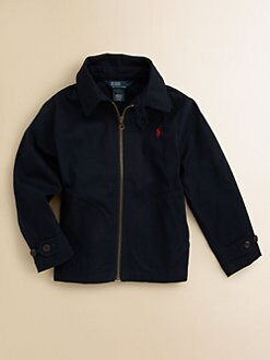 Ralph Lauren - Toddler's & Little Boy's Twill Windbreaker