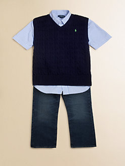 Ralph Lauren - Boy's Cable-Knit Vest