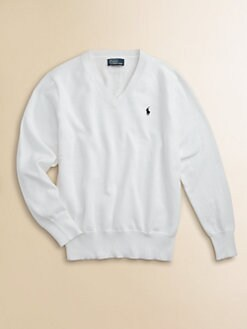 Ralph Lauren - Boy's V-Neck Sweater