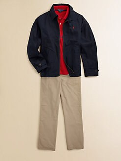 Ralph Lauren - Boy's Twill Windbreaker