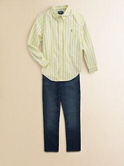 Ralph Lauren - Boy's Striped Oxford Shirt
